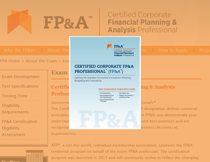 is fp&a certification right for your organization? | planview
