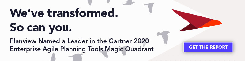 Planview Named a Leader in the Gartner 2020 Enterprise Agile Planning Tools Magic Quadrant